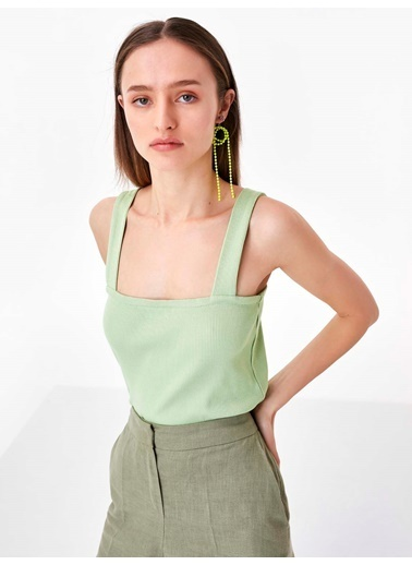Twist Bluz Yeşil